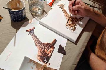 create art together from home