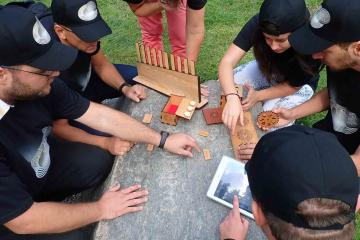 Escape the Maze Team Building Activity