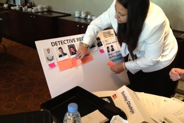CSI team problem solving game