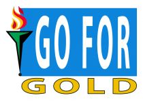 go for gold logo