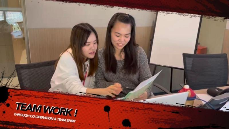 team working together teamwork through cooperation and team spirit