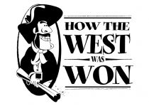how the west was won logo