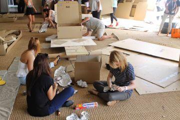 creative team building activity