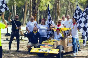 flat out formula 1 creative team building catalyst israel