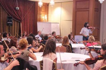 musical conference energiser team building Turkey