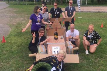 flat out formula one creative team building catalyst  finland