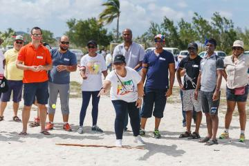 outdoor olympic activity team building Curacao
