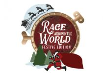 Festive Race Around the World Logo