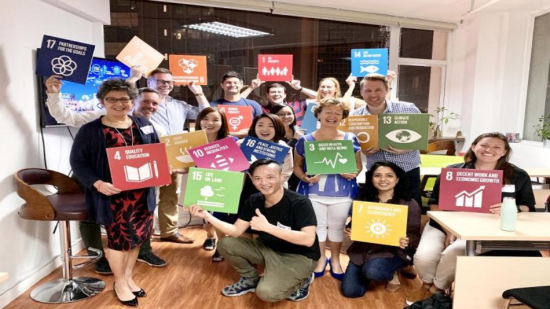 Group winning SDGs 2030 game