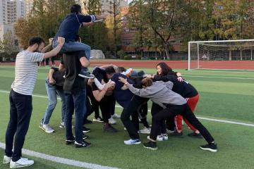 olympic themed team building activity