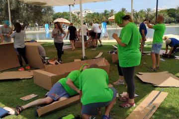 fun team building israel
