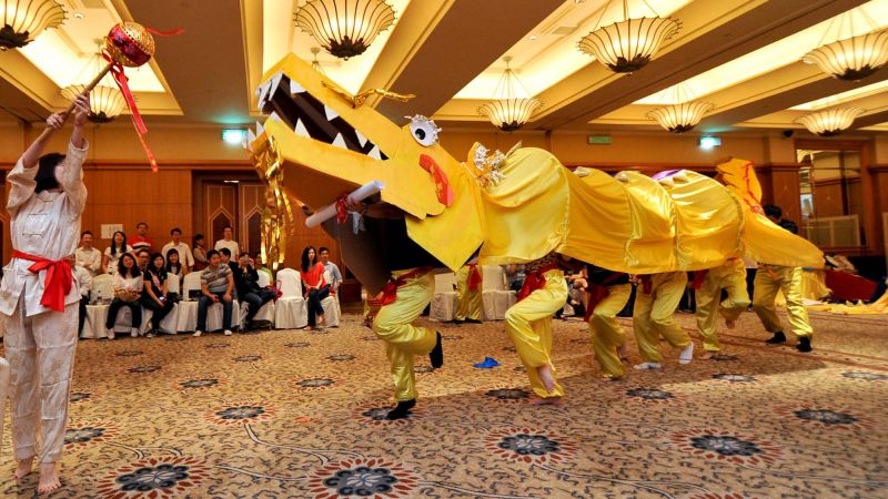 dragon dance team building