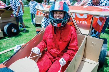 Flat Out Formula One Creative Team Building