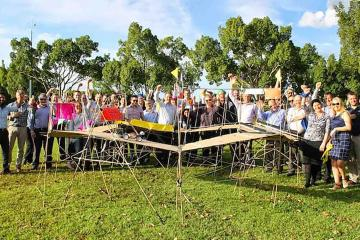 innovative collaborative activity team building Australia