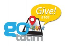 go team go give logo