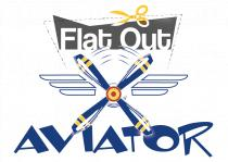 Flat Out Aviator Logo Catalyst